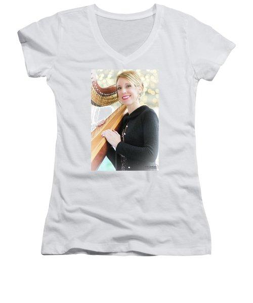 Low-angle Portrait Women's V-Neck T-Shirt