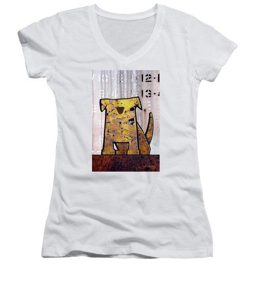 Loyal Women's V-Neck T-Shirt (Junior Cut)