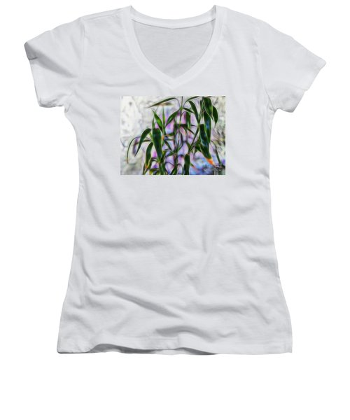 Lucky Bamboo Women's V-Neck