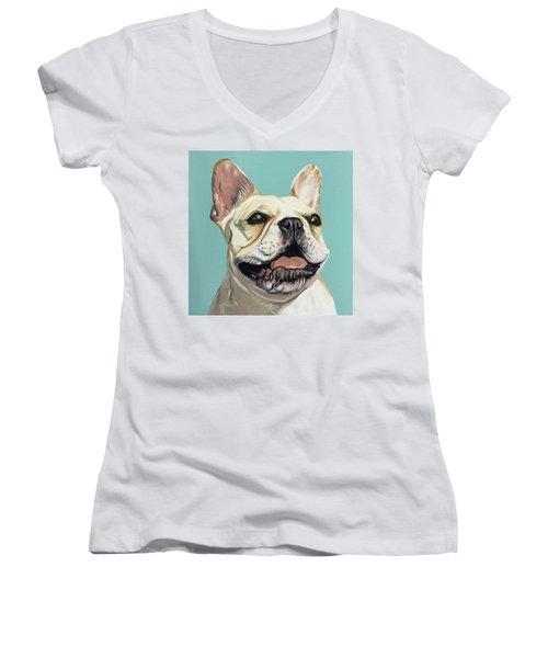 Luna Women's V-Neck T-Shirt