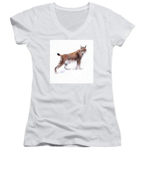 Lynx Women's V-Neck