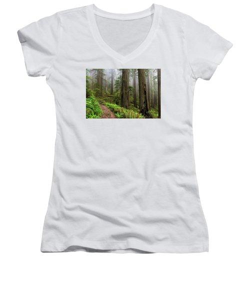 Magical Forest Women's V-Neck T-Shirt