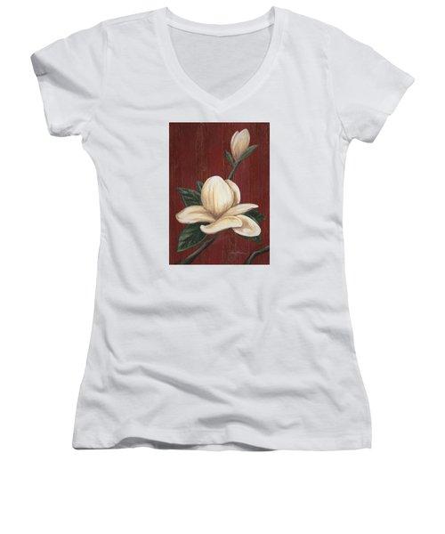 Magnolia I Women's V-Neck
