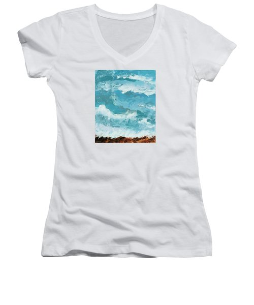 Majestic Women's V-Neck