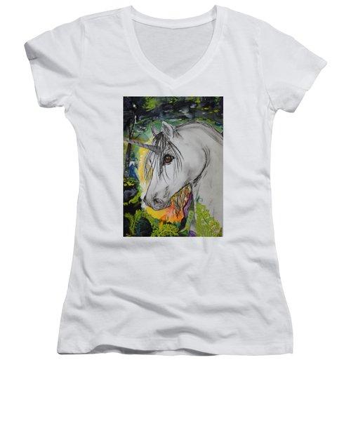 Majik Women's V-Neck T-Shirt