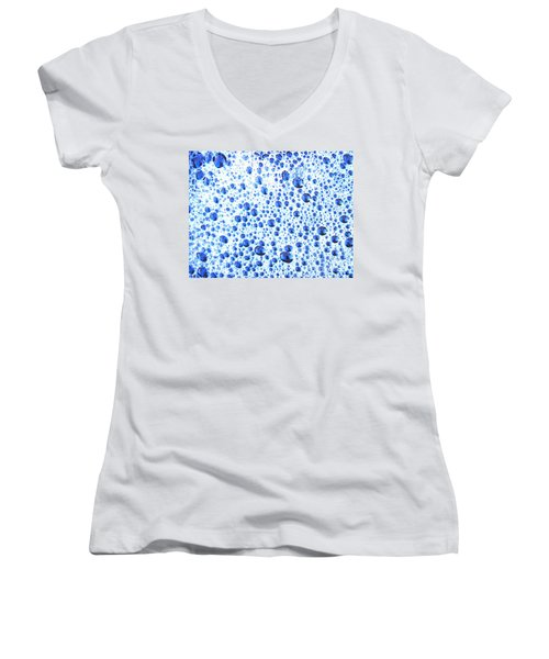 One In The Bubble-all The Same Women's V-Neck (Athletic Fit)