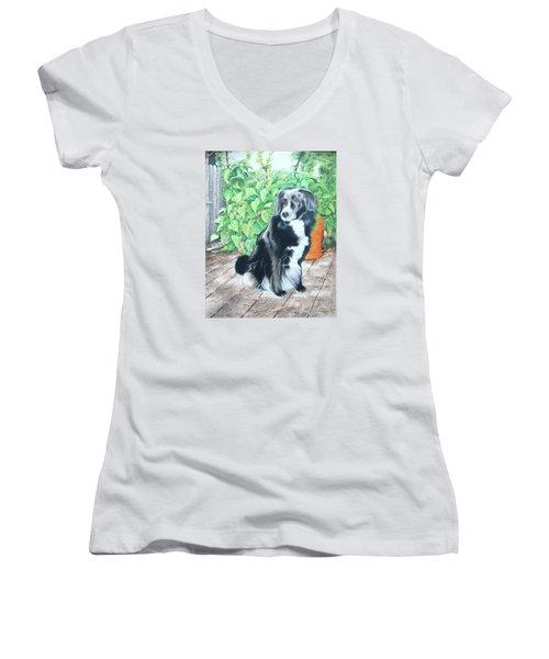 Mandy Women's V-Neck T-Shirt