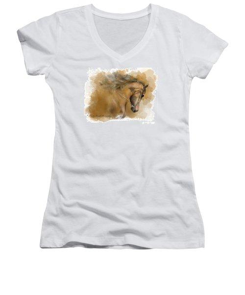 Mangalarga Marchador Women's V-Neck T-Shirt