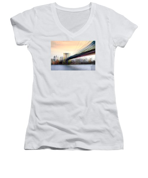 Manhattan X3 Women's V-Neck