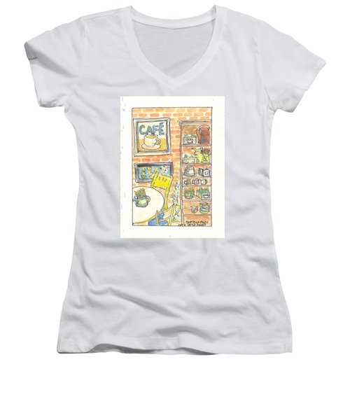 Martello Alley Women's V-Neck T-Shirt