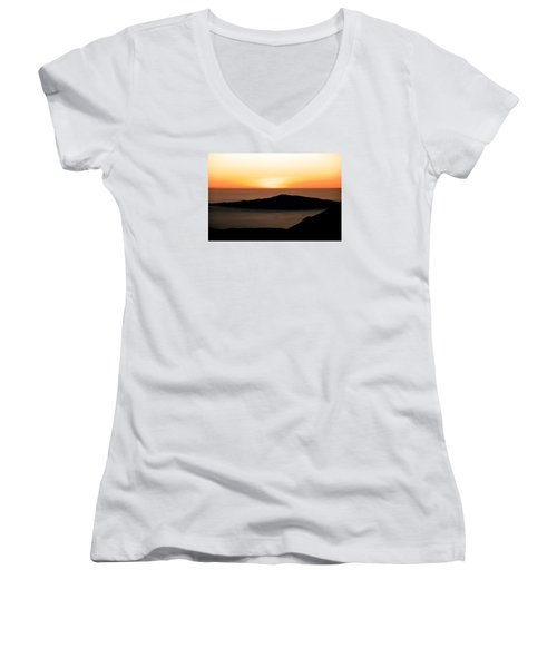 Mauna Kea Sunset Women's V-Neck