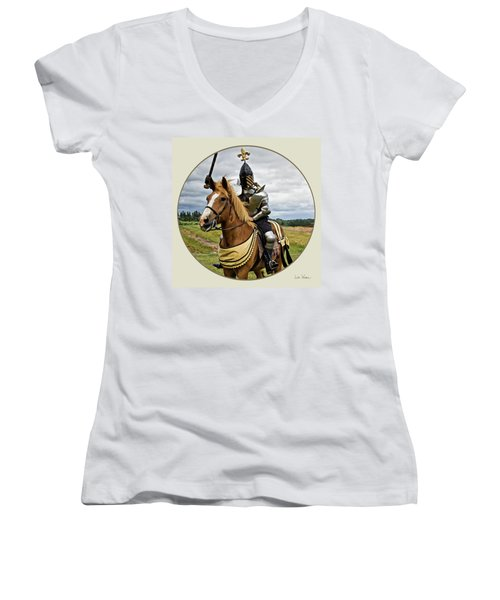 Medieval And Renaissance Women's V-Neck (Athletic Fit)