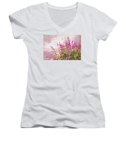 Mellow Afternoon Women's V-Neck (Athletic Fit)
