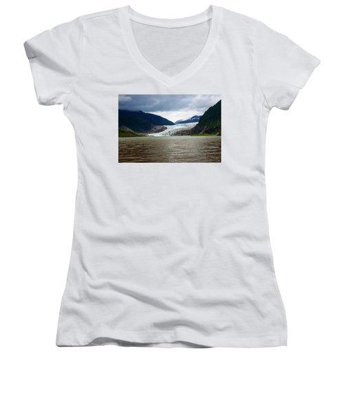 Mendenhall Glacier  Women's V-Neck