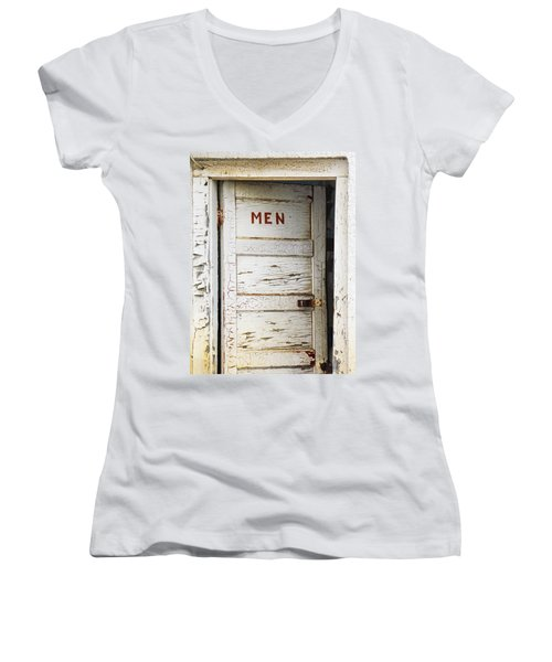 Men's Room Women's V-Neck (Athletic Fit)