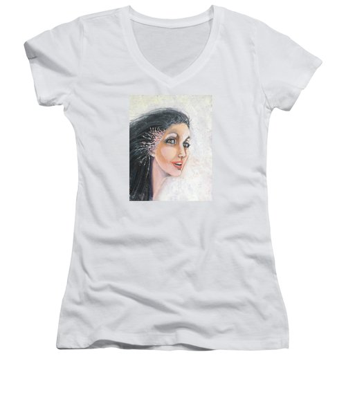 Meryl Women's V-Neck T-Shirt