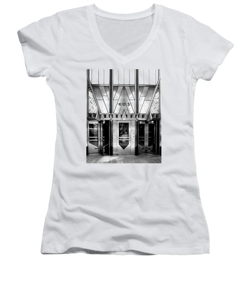 Metropolis Women's V-Neck (Athletic Fit)