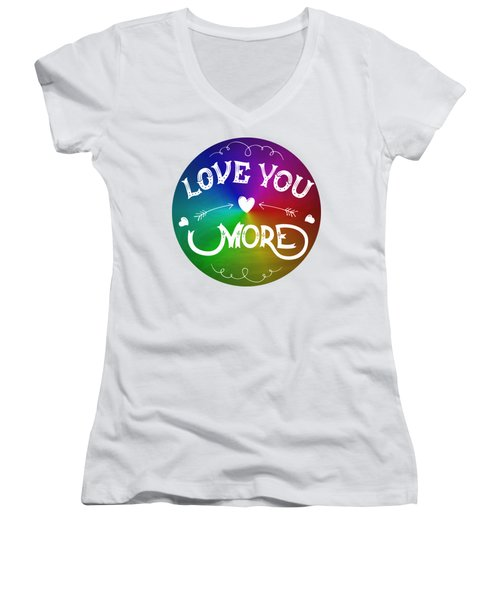 Michael Jackson Innocent Women's V-Neck T-Shirt (Junior Cut) by D Francis