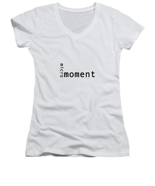 Micro Moment Women's V-Neck (Athletic Fit)