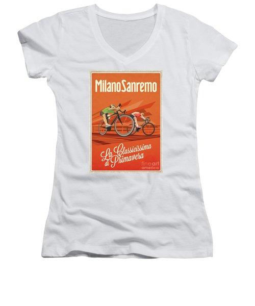 Milan San Remo Women's V-Neck