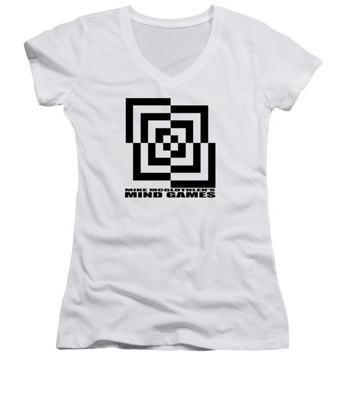 Mind Games 10se Women's V-Neck T-Shirt