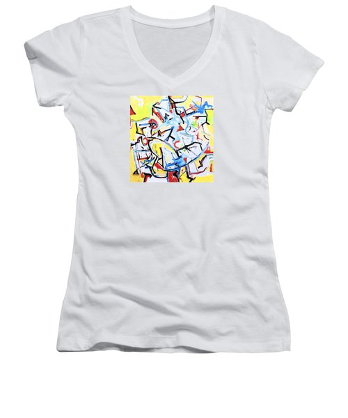 Mindstreams Women's V-Neck T-Shirt