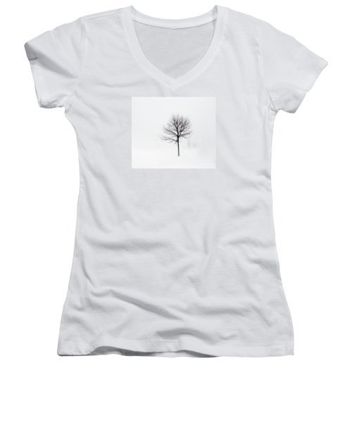 Minimum Visibility Women's V-Neck T-Shirt