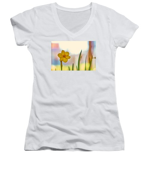 Miss Yellow Women's V-Neck