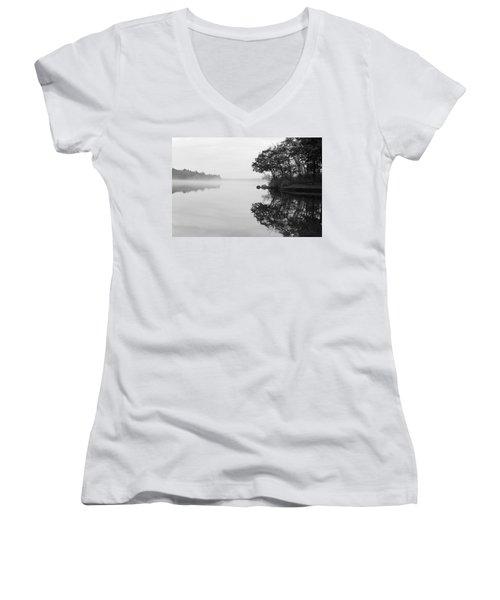 Misty Cove Women's V-Neck T-Shirt