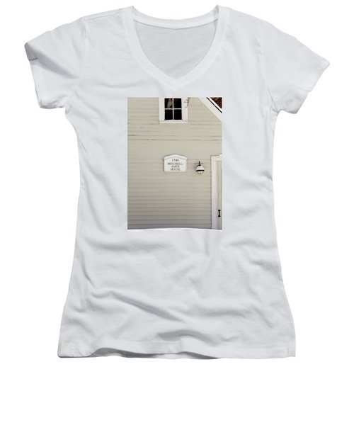 Mitchell-amee House Women's V-Neck T-Shirt