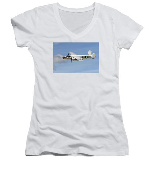 Mitchell In The Sky Women's V-Neck T-Shirt