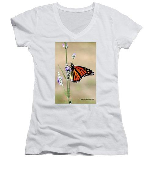 Monarch Women's V-Neck
