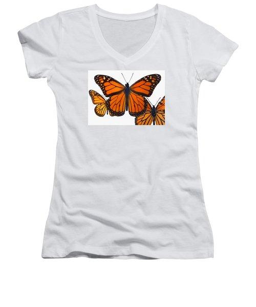 Monarchs Women's V-Neck T-Shirt
