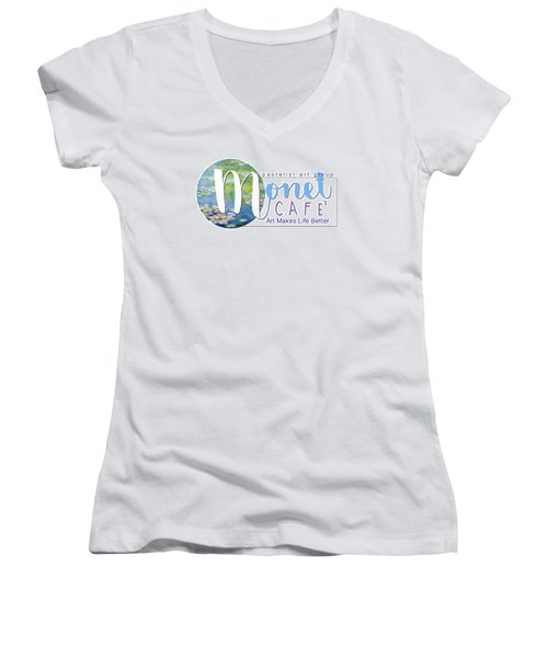 Monet Cafe' Products Women's V-Neck