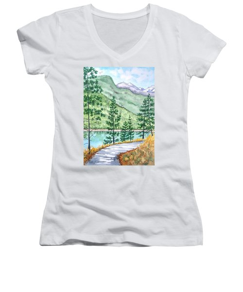 Montana - Lake Como Series Women's V-Neck (Athletic Fit)