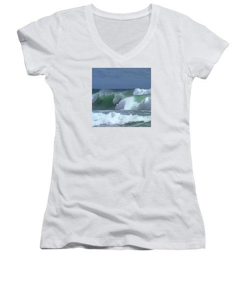 Monterey Surf Women's V-Neck T-Shirt