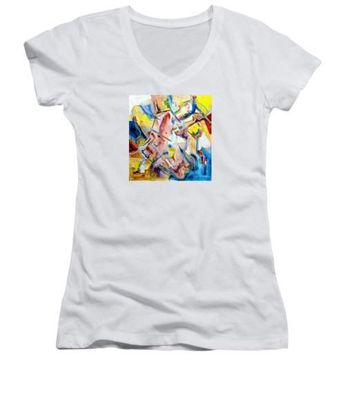 Monument To Aboutness Women's V-Neck T-Shirt