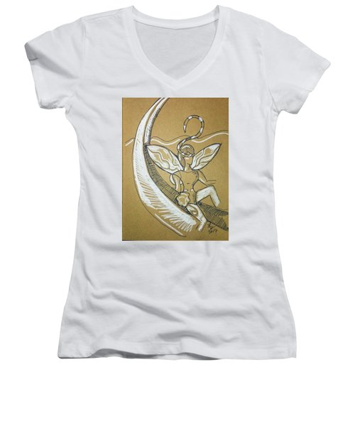 Moon Fairy Women's V-Neck