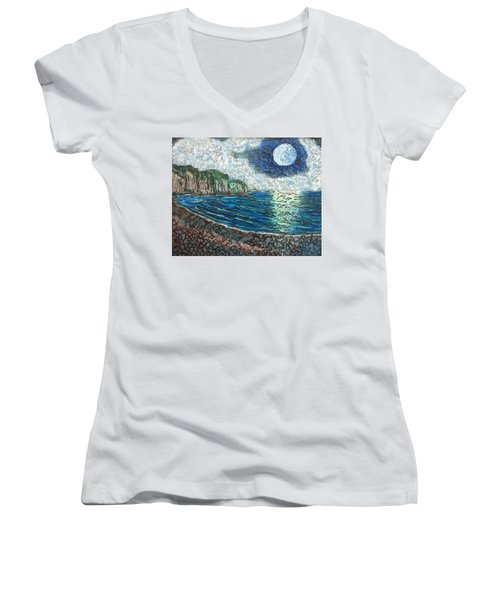Moonlight In Pourvill Women's V-Neck