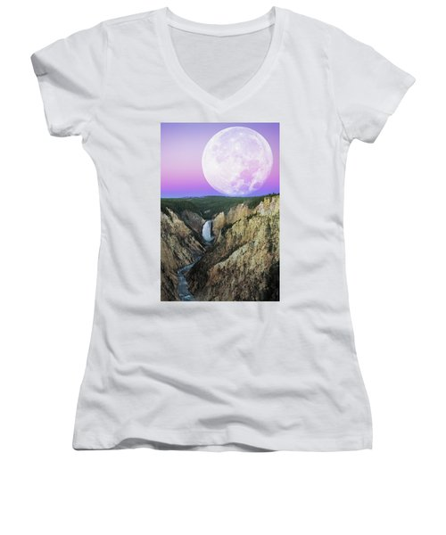 My Purple Dream Women's V-Neck (Athletic Fit)