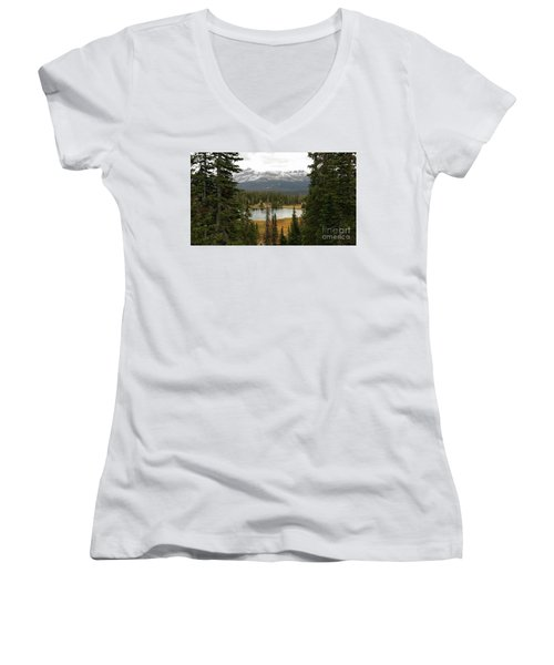 Moosehorn Lake Women's V-Neck