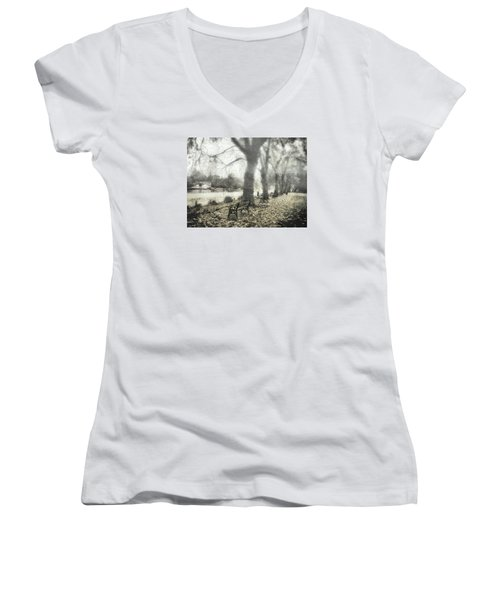 More Than A Bit Arty Women's V-Neck