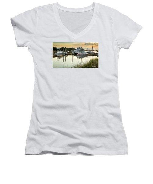 Morgan Creek Women's V-Neck T-Shirt