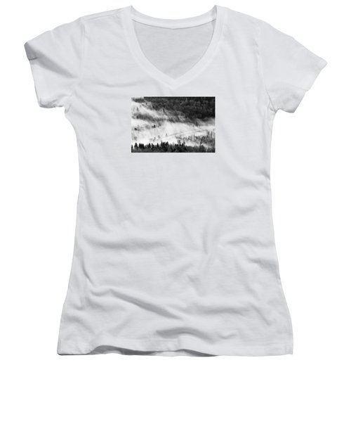 Morning Fog Women's V-Neck