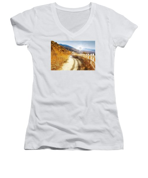 Morning Hike Women's V-Neck