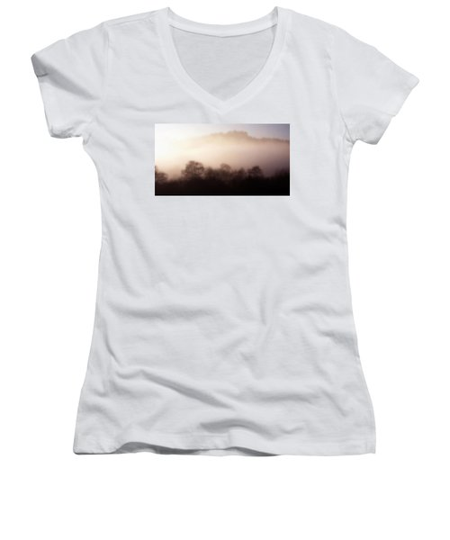 Morning Mist  Women's V-Neck