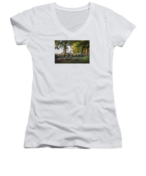 Morning Sentinel Women's V-Neck T-Shirt