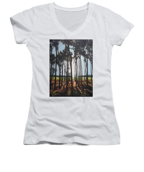 Morning Walk. Women's V-Neck