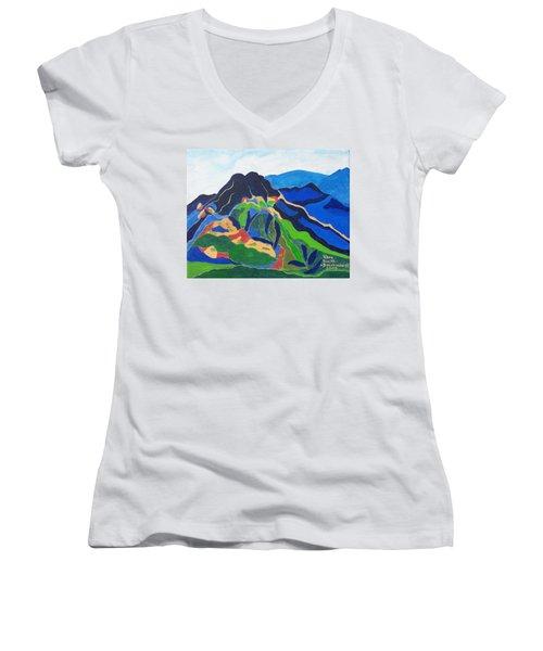Mount Canigou Women's V-Neck