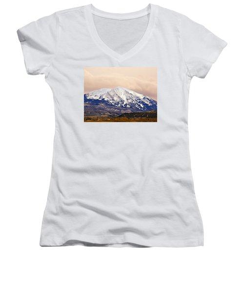 Mount Sopris Women's V-Neck